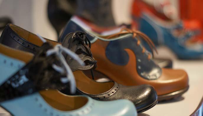 fluevog banker shoes, Kitschy Boom