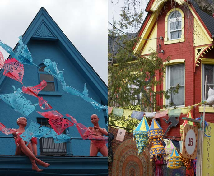 kensington market hippie houses