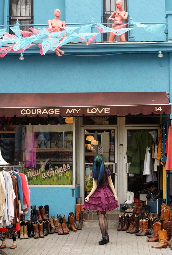 courage my love, toronto vintage