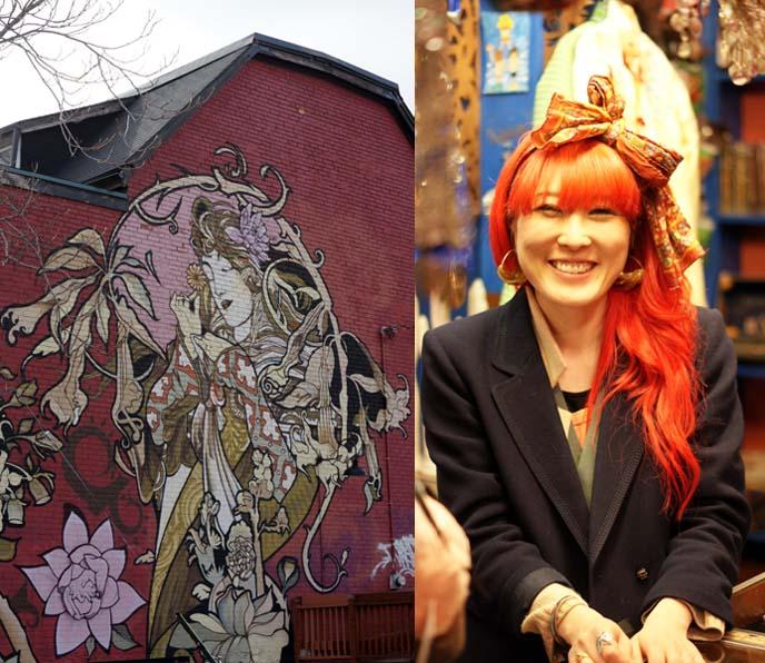 kensington mural, alphonse mucha art nouveau