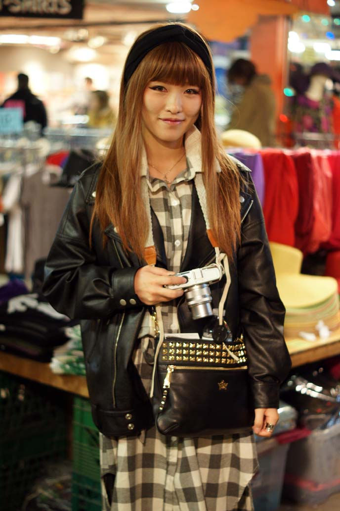 korean street style girl