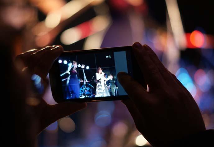 bokeh concert photography bands