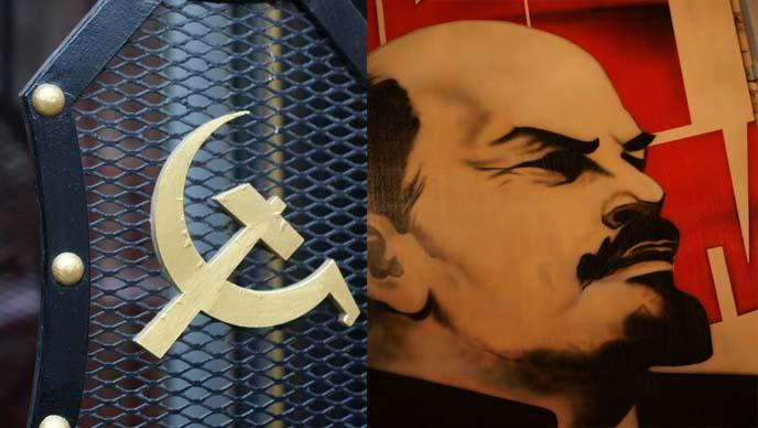 hammer sickle, pravda toronto russian bar