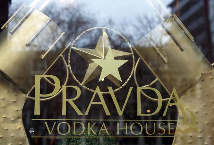 pravda vodka house toronto