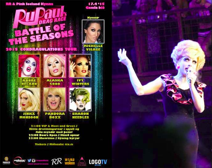 rupaul battle of seasons tour poster
