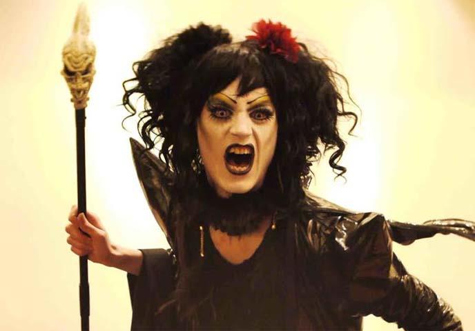 gothic drag queen