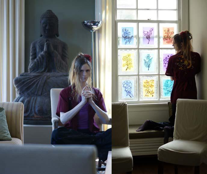 praying buddha, zen bookstore