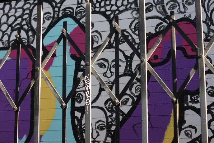 mission valencia alley street art