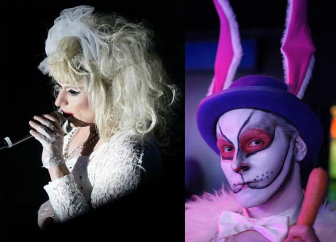 heklina, Trannyshack drag queen show