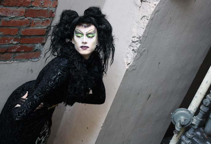 goth drag queen makeup