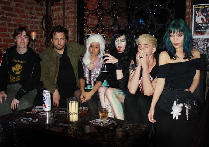 dark shadows goth party, cat club