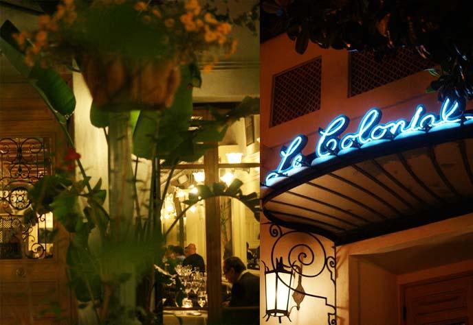 le colonial michelin starred restaurant