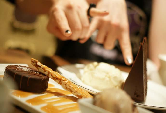 peanut brittle cake dessert