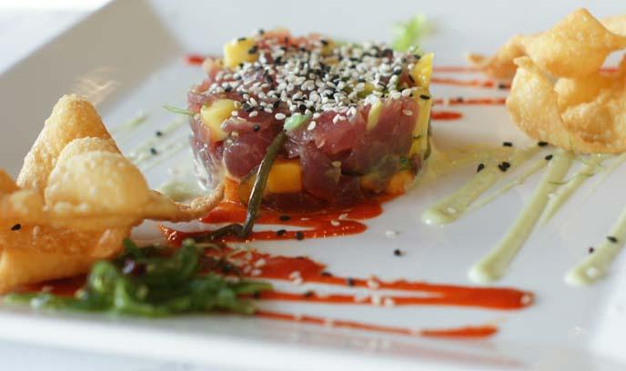 san francsico fresh seafood tuna tartar