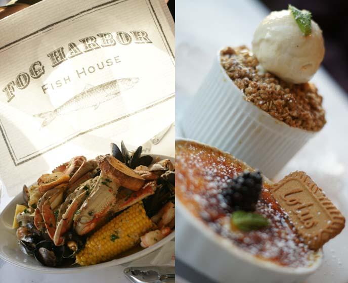 fog harbor fish house seafood platter