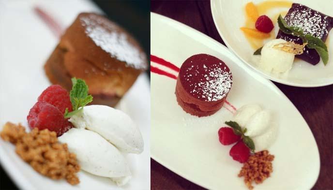 peruvian desserts, la mar chocolate lucuma crepe