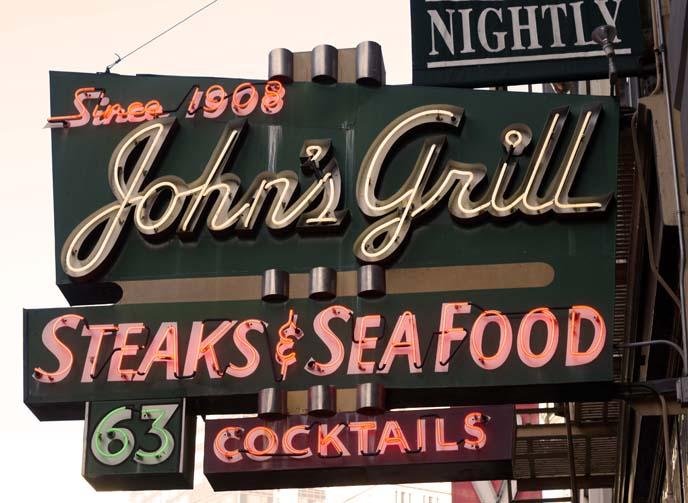 historic john's grill restaurant