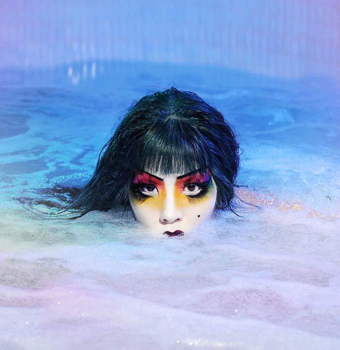 kabuki japanese makeup eyes