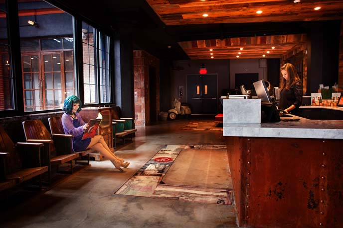 paper factory hotel review, lobby