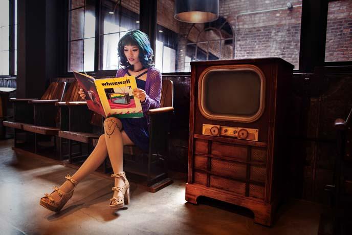 vintage tv, whitewall magazine