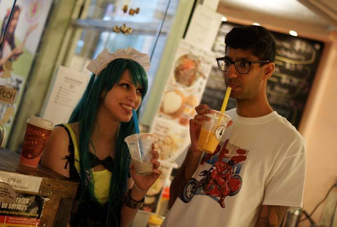 bubble tea, chinatown new york