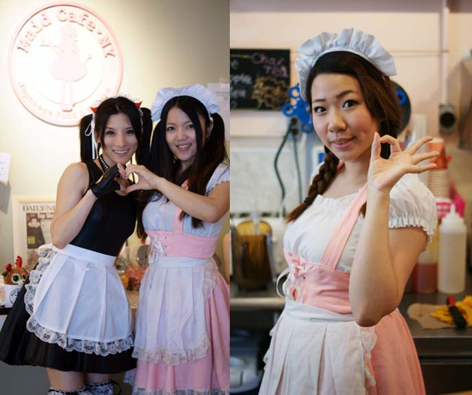 maid cafe ny, cute japanese maids