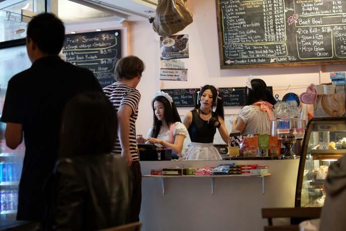Japanese maid cafe chinatown ny