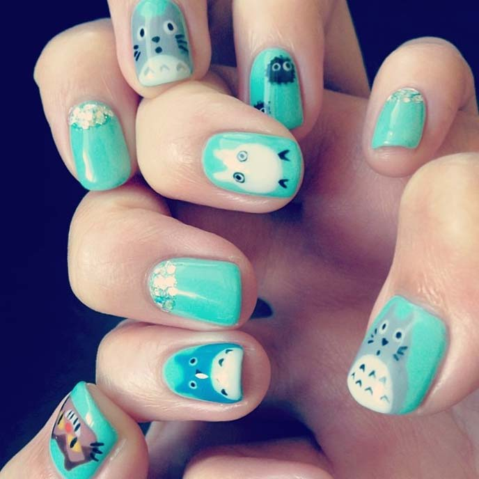 CRAZY, STRANGE JAPANESE NAIL ART: DECORATED FAKE NAILS, DECORA ...