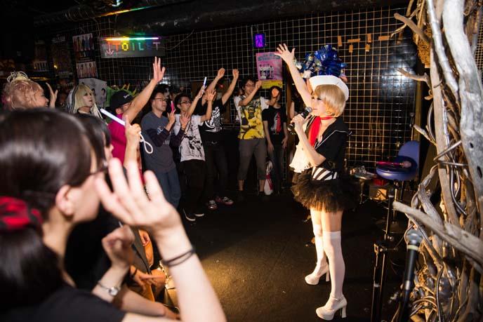 cute japanese girl singing