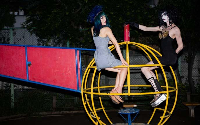 designer playground equipment