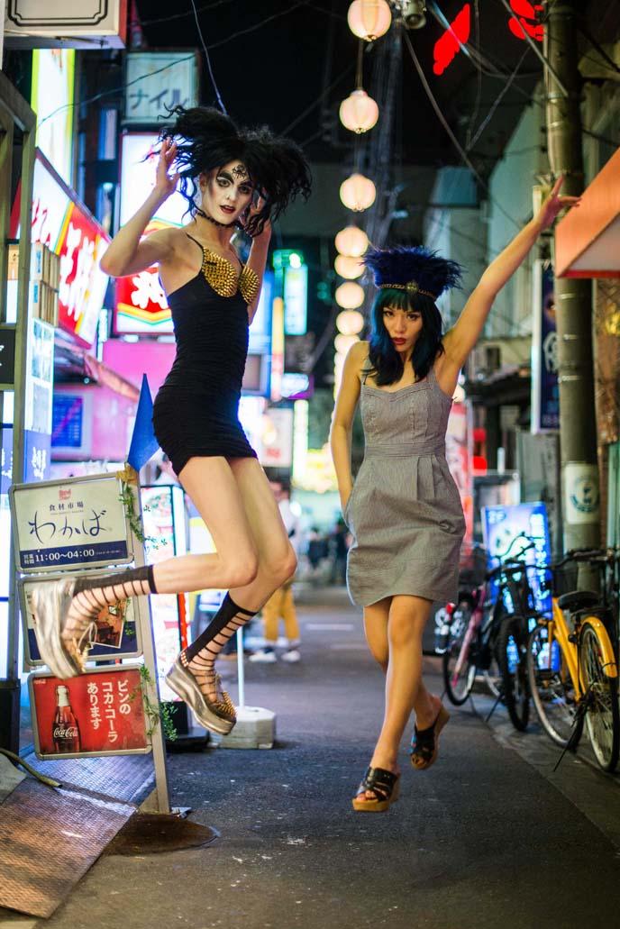 harajuku crazy street fashion