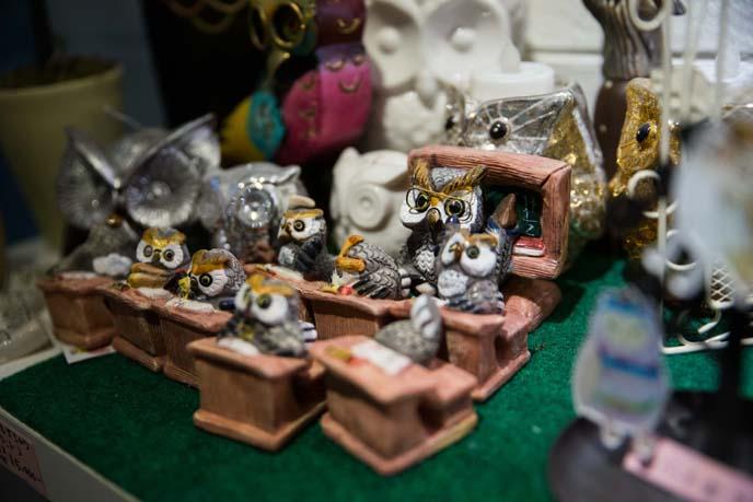 owl souvenirs, jewelry