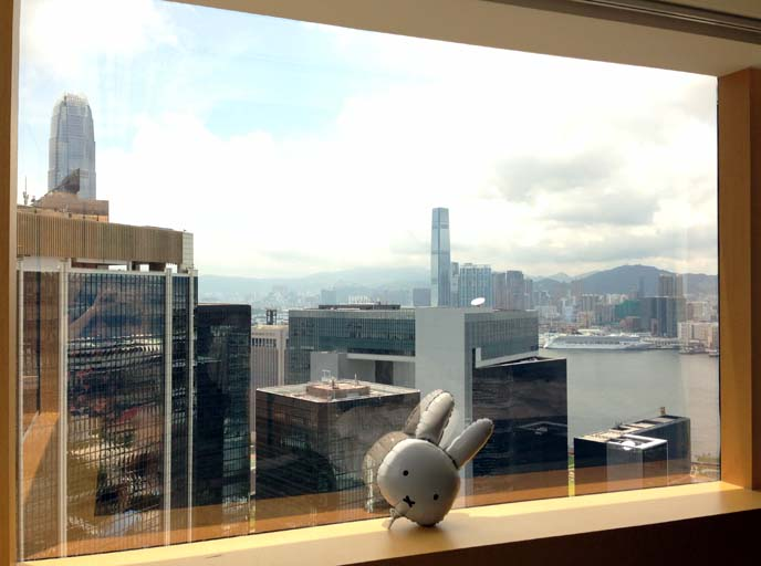 hong kong hotel with harbour view