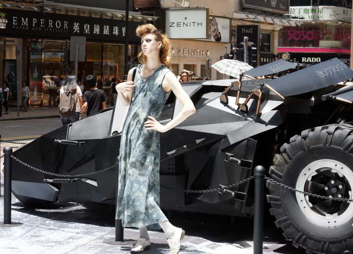 batmobile, batman display