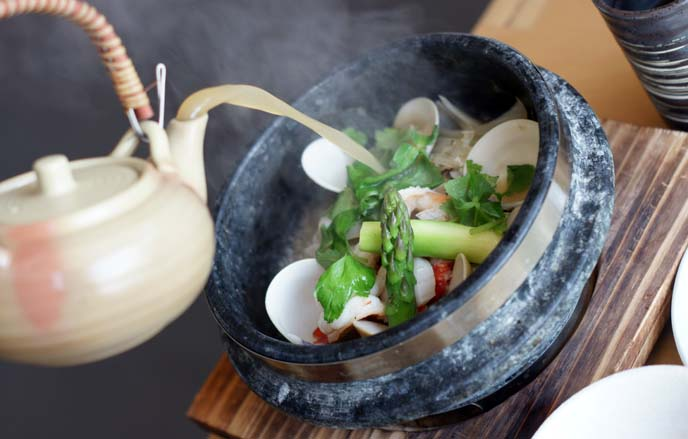 clam stew hot pot