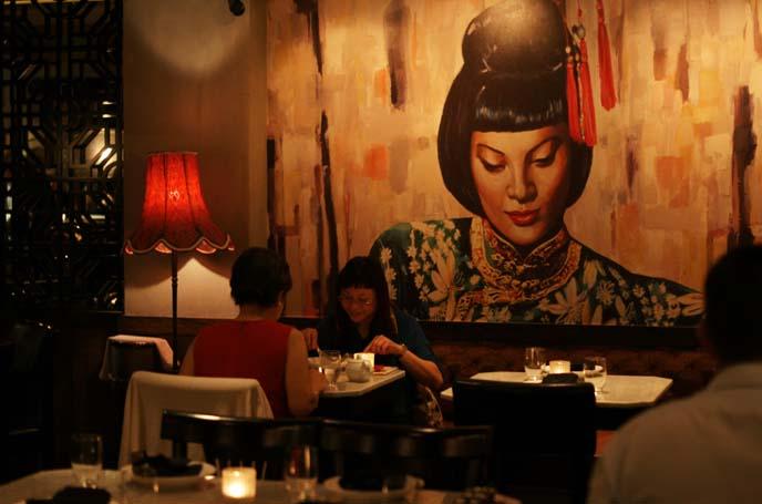 mama san restaurant hong kong interior