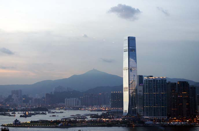 Hong Kong International Commerce Centre 環球貿易廣場