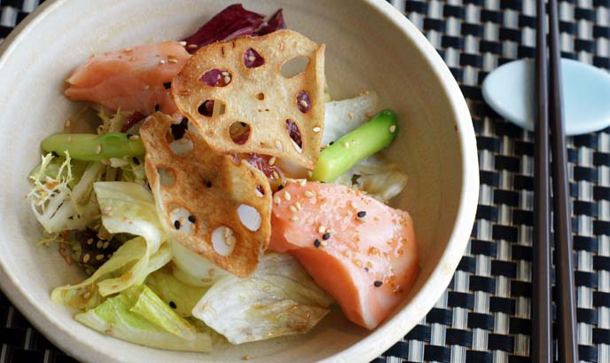japanese salmon salad
