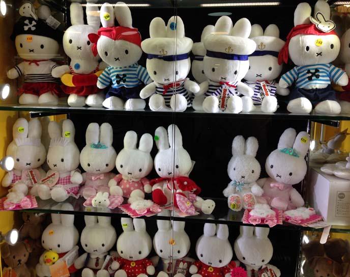 miffy bunny stuffed toys
