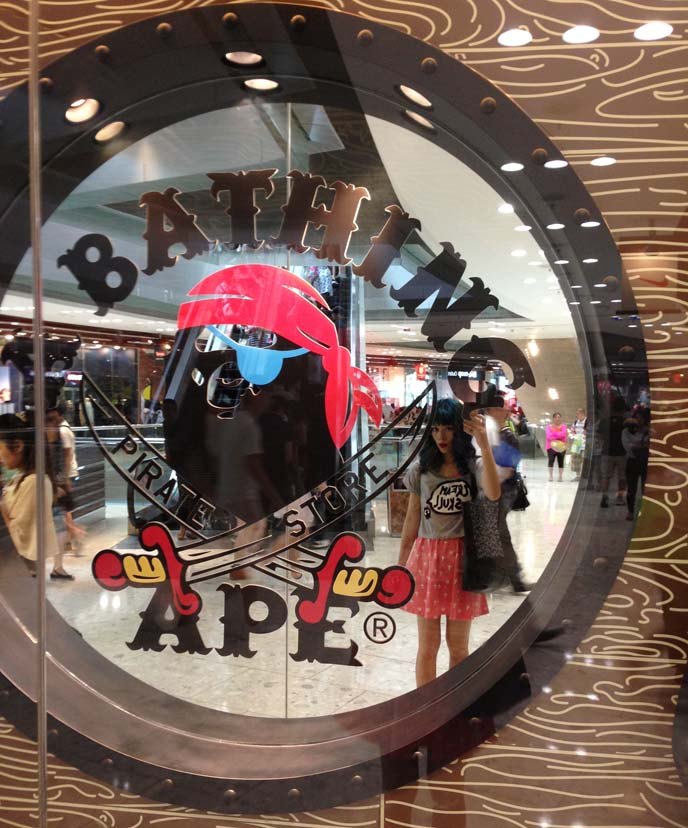 bathing ape hong kong shop