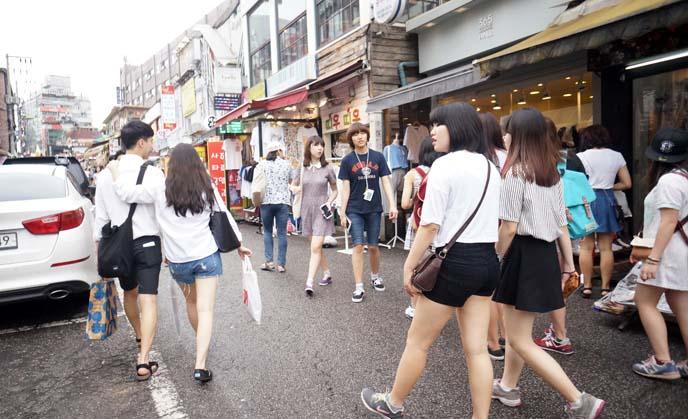 hongdae kpop clothing boutiques
