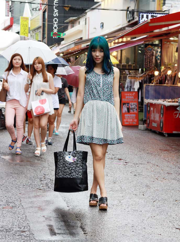 korean street style, seoul outfit snap