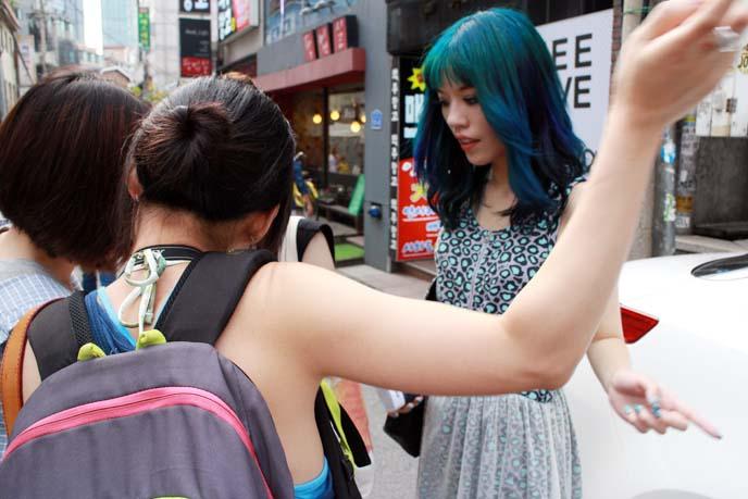 hongdae streets, shops