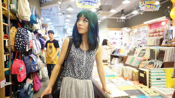 artbox stationery store korea