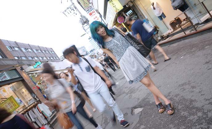 hongdae shopping, korean fashion