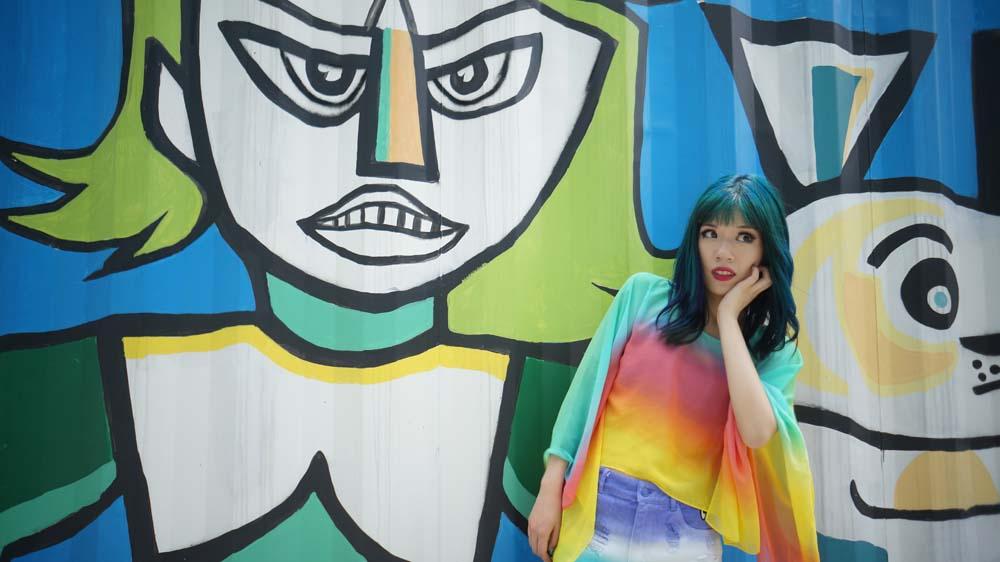 la carmina, korean mural