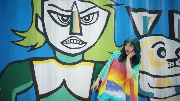 kpop artists, painting