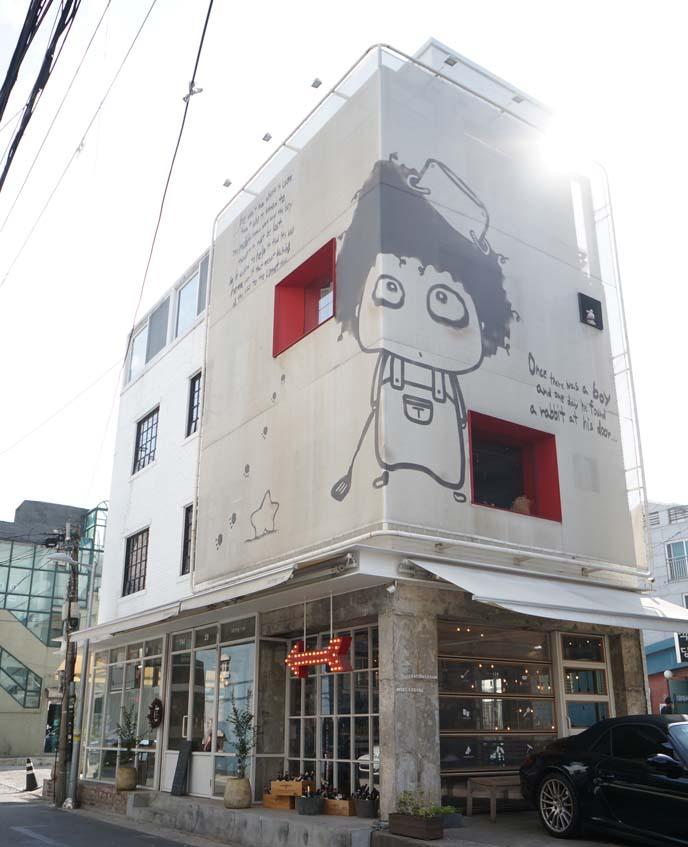 itaewon restaurants, cafes