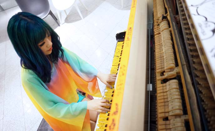 dongdaemun interior, piano