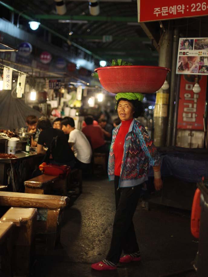 dongdaemun food market